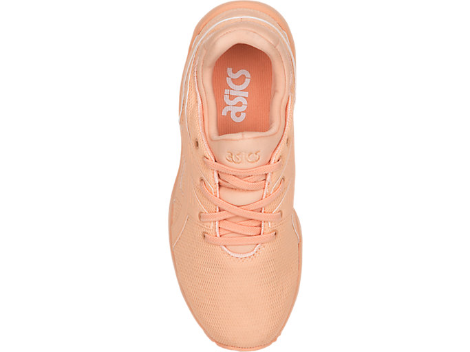 Top view of GEL-KAYANO TRAINER EVO PS, APRICOT ICE/APRICOT ICE