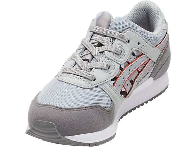 Front Left view of GEL-LYTE III PS, MID GREY/ALUMINUM