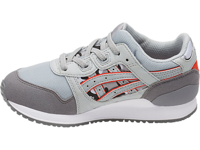 Left side view of GEL-LYTE III PS, MID GREY/ALUMINUM