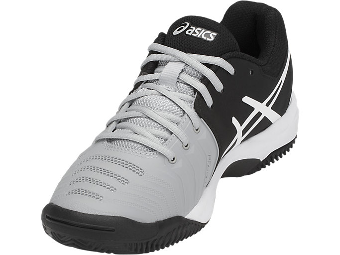 Front Left view of GEL-RESOLUTION™ CLAY GS, MID GREY/BLACK/WHITE