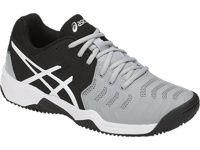 Front Right view of GEL-RESOLUTION™ CLAY GS, MID GREY/BLACK/WHITE