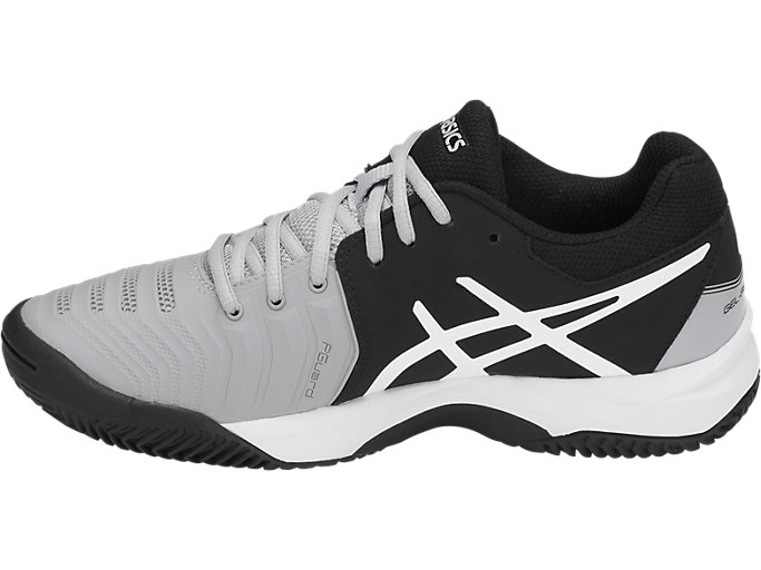 Left side view of GEL-RESOLUTION™ CLAY GS, MID GREY/BLACK/WHITE