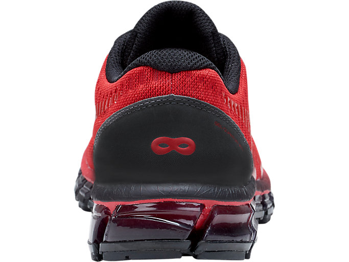 Back view of GEL-QUANTUM 360 GS DISNEY• PIXAR INCREDIBLES 2, CLASSIC RED/CLASSIC RED/BLACK