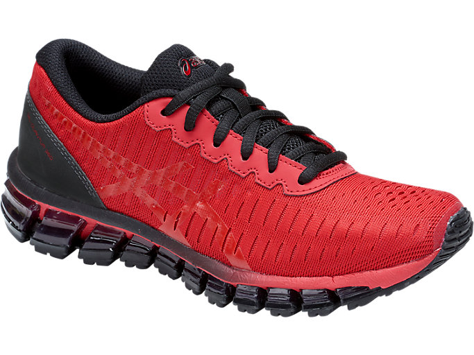 Front Right view of GEL-QUANTUM 360 GS DISNEY• PIXAR INCREDIBLES 2, CLASSIC RED/CLASSIC RED/BLACK