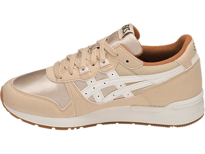 Left side view of GEL-LYTE GS, MARZIPAN/WHISPER WHITE