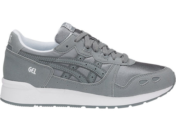 Right side view of GEL-LYTE GS, STONE GREY/STONE GREY