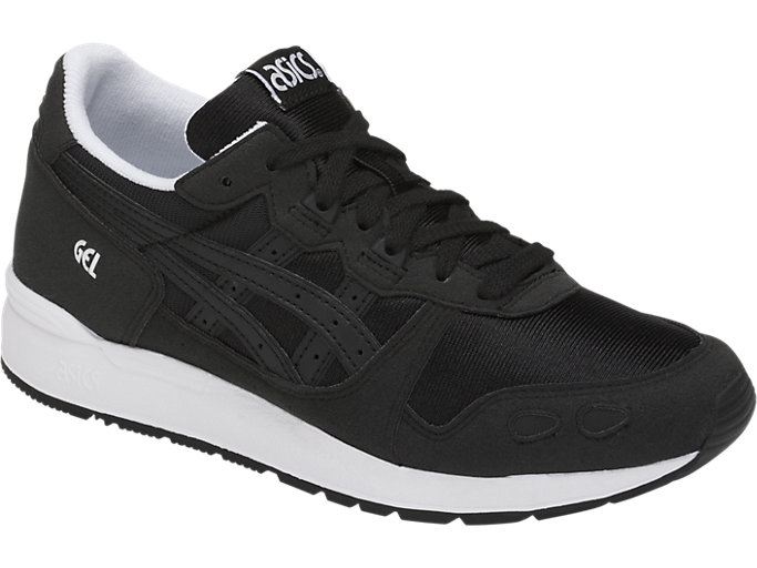 Front Right view of GEL-LYTE GS, BLACK/BLACK