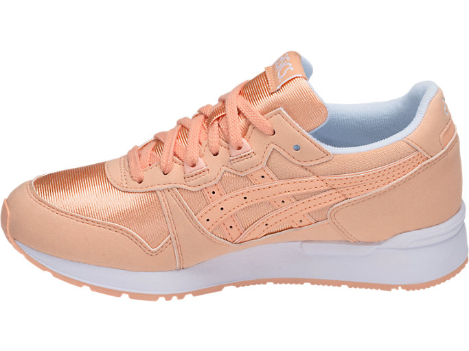 Left side view of GEL-LYTE GS, APRICOT ICE/APRICOT ICE