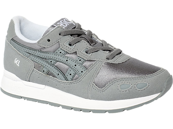 Front Right view of GEL-LYTE PS, STONE GREY/STONE GREY