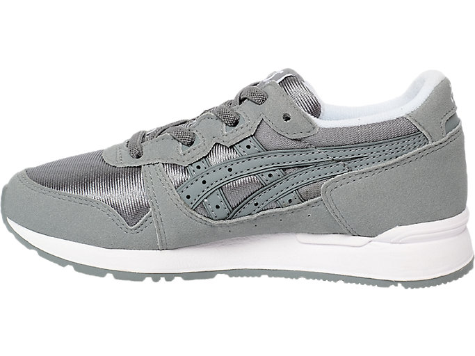 Left side view of GEL-LYTE PS, STONE GREY/STONE GREY