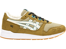 Right side view of DISNEY GEL-LYTE GS, ALOE/CREAM