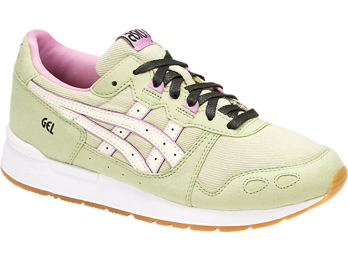 Front Right view of DISNEY GEL-LYTE GS, LINT/CREAM