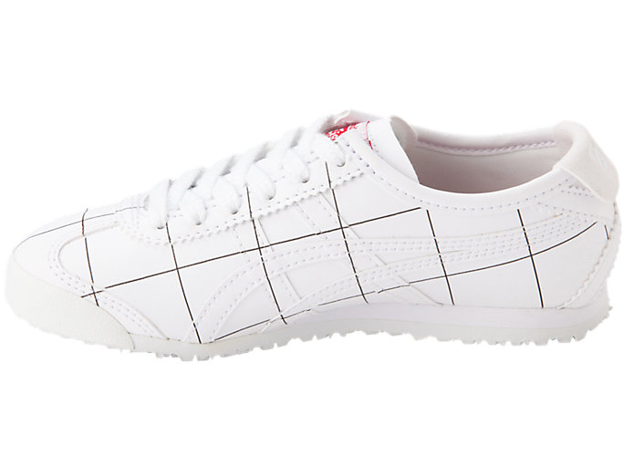 Left side view of MEXICO 66 PS, WHITE/WHITE