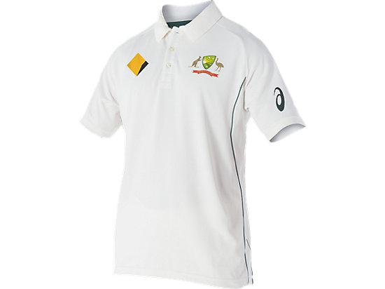 Cricket Australia Replica Test Shirt Cream / White 3