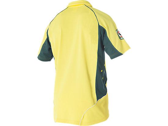 Cricket Australia Replica ODI Home Shirt Yellow / Forest Green 7
