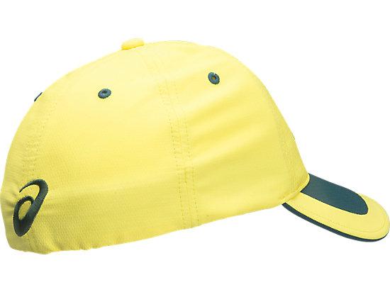 FlexFit Cricket Australia Replica ODI Cap Yellow / Forest Green 7