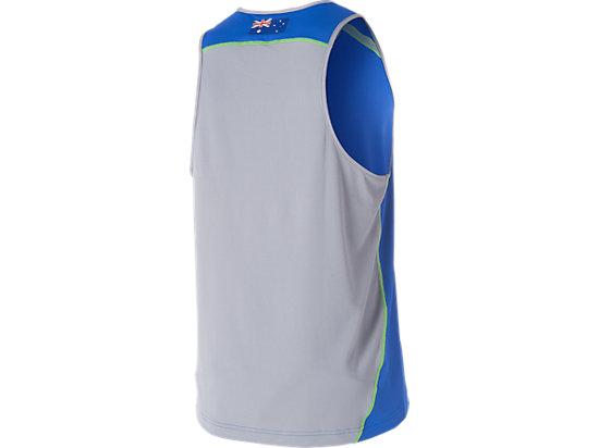 Cricket Australia Replica Training Singlet Olympian Blue / Grey 7