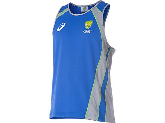 Cricket Australia Replica Training Singlet Olympian Blue / Grey 3