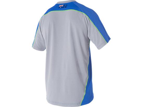 Cricket Australia Replica Training T-Shirt Olympian Blue / Grey 7