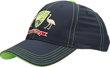 7b02ddff74ba1 Adjustable Cricket Australia Replica Twenty20 Cap Black   Lime Green    Yellow 3 FT