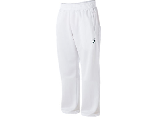 Cricket Playing Pant White White / Olympian blue 3