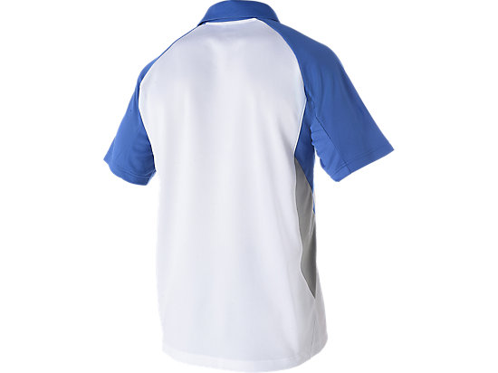 Cricket Australia Replica Travel Polo White / Olympian blue 7