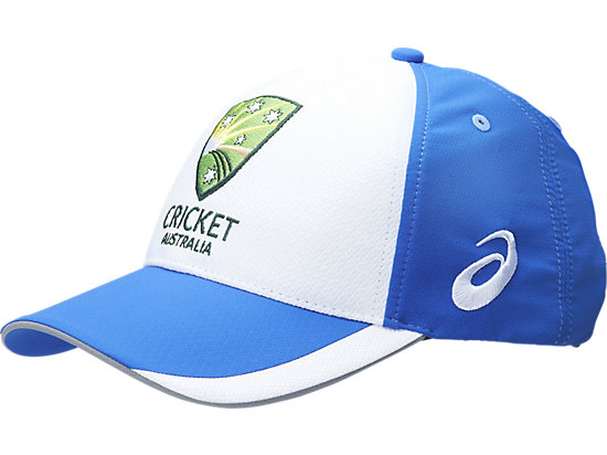 3af98027 Cricket Australia Replica Training Hat | White / Olympian Blue | ASICS  Australia