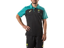 OFFICIAL CRICKET AUSTRALIA TRAVEL POLO
