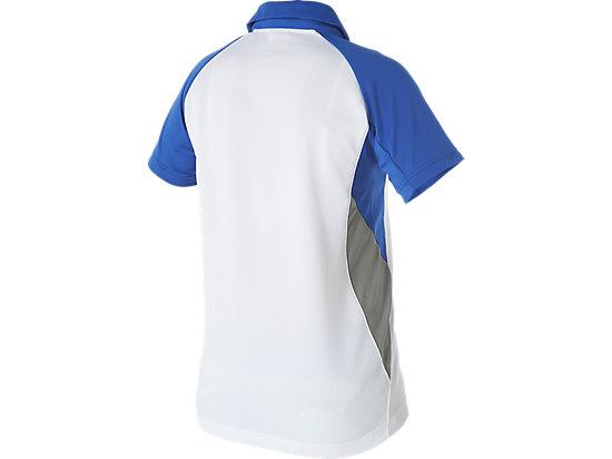 Cricket Australia Replica Travel Polo White / Olympian blue 7