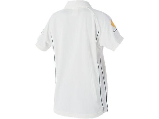 Cricket Australia Replica Test Shirt Youth Cream / White 7