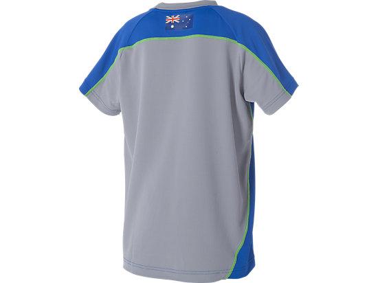 Cricket Australia Replica Training T-Shirt Youth Olympian Blue / Grey 7