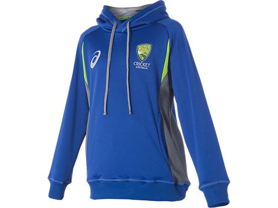 Cricket Australia Replica Travel Hoodie Youth Olympian Blue / Grey 3
