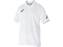 Cricket Playing Polo Top White Youth