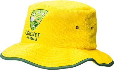 376598f7d44dd Cricket Australia Supporter Terry Toweling Bucket Hat Yellow 3 FT
