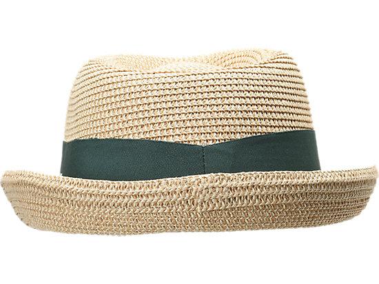 Cricket Australia Supporter Fedora Straw Hat Straw / Forest Green 7