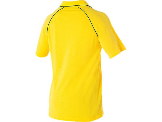 Cricket Australia Supporter Cotton Polo Yellow 7