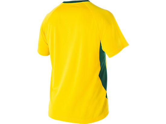 Cricket Australia Supporter T-Shirt Yellow / Forest Green 7
