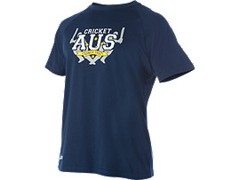 Cricket Australia Supporter AUS Print T-shirt