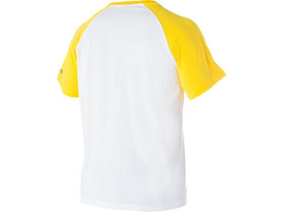 Cricket Australia Supporter Shield Print T-Shirt White / Yellow 7