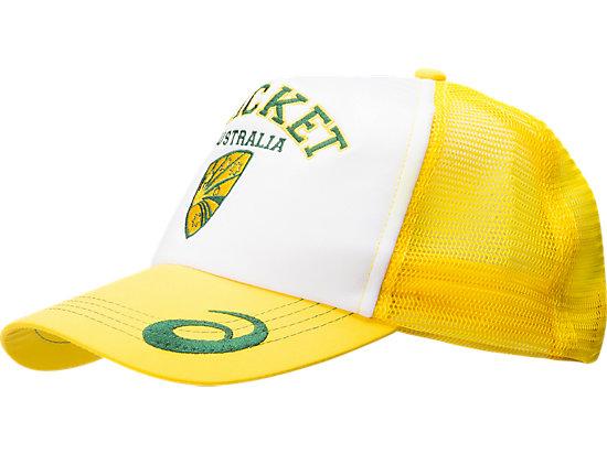 Cricket Australia Supporter Trucker Cap White / Yellow 3