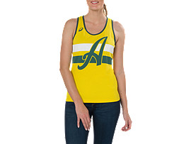 CRICKET AUSTRALIA SUPPORTER SINGLET - WOMENS