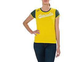 CRICKET AUSTRALIA SUPPORTER TEE - WOMEN