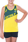 CRICKET AUSTRALIA SUPPORTER SINGLET - YOUTH