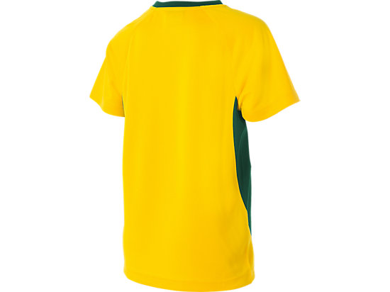 Cricket Australia Supporter T-Shirt Youth Yellow / Forest Green 7
