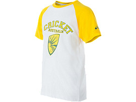 Cricket Australia Supporter Shield Print T-Shirt Youth