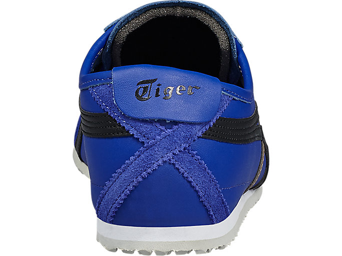 Back view of Mexico 66, ASICS BLUE/BLACK