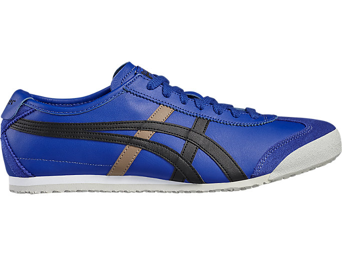 Right side view of Mexico 66, ASICS BLUE/BLACK