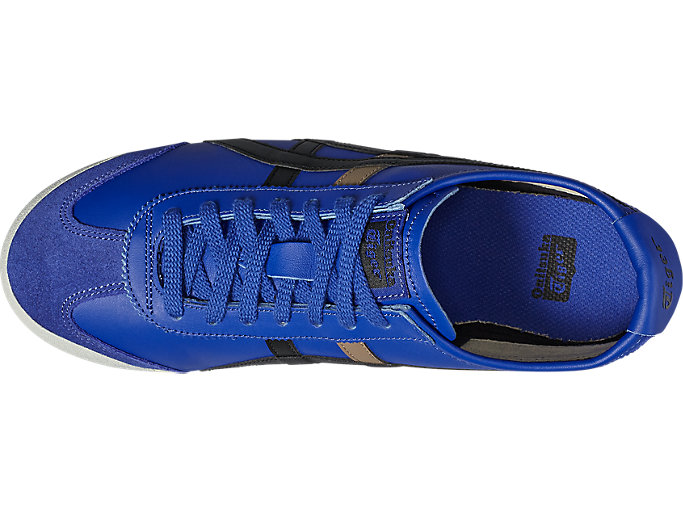 Top view of Mexico 66, ASICS BLUE/BLACK