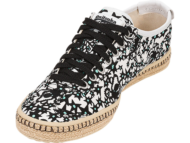 Mexico 66 Espadrille Black / White 13 FL