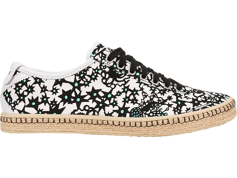 Mexico 66 Espadrille Black / White 1